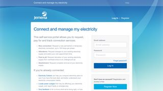 Connect and manage my electricity - Jemena