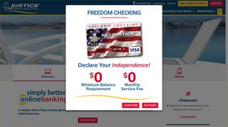 Online Banking - Justice Federal Credit Union