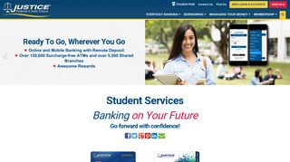 Student Services - Justice Federal Credit Union