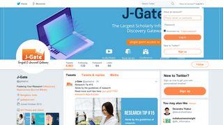 J-Gate (@jgateplus)   Twitter