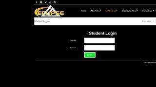Student Login – Eclipse Kickboxing & Gracie Jiu Jitsu