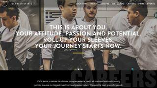 JOEY Restaurants   Careers