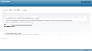 jwuLink Authorized User Login - uconnect at JWU