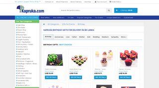 Online Shopping - Kapruka Birthday Gifts For Delivery in Sri Lanka