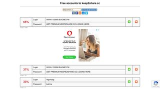 keep2share.cc - free accounts, logins and passwords
