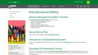 Kelly Educational Staffing - MyKelly