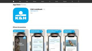 K&H mobilbank on the App Store - iTunes - Apple