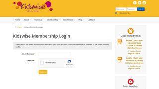 Kidswise Membership Login