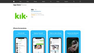 Kik on the App Store - iTunes - Apple
