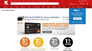 Sears Credit Card Offers - Kmart