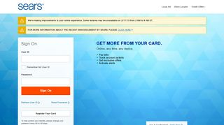 Sears Credit Card: Log In or Apply - Citi.com