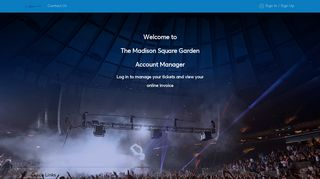 Madison Square Garden Account Manager  