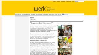 KI: Welcome to Cologne - Kölner Studierendenwerk