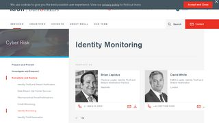 Identity Monitoring & Non-Credit Services | Kroll