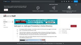 windows - lastLogon vs. lastLogonTimestamp in Active Directory ...