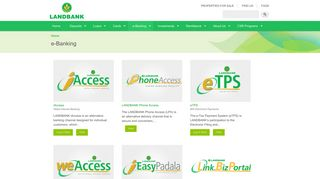 e-Banking   Land Bank of the Philippines