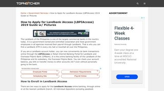 How to Apply for Landbank iAccess (LBPIAccess) 2019 Guide w ...