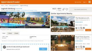 Legends Edinburg - Edinburg, TX | Apartment Finder