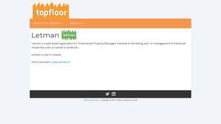 Property Software Specialists | Topfloor | Letman : Property Lettings ...