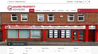 Maher Property Advisors: Home