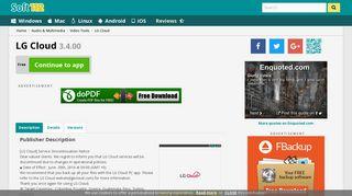 LG Cloud 3.4.00 Free Download