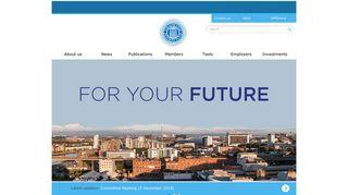 SPFO - SPFO homepage quick links:
