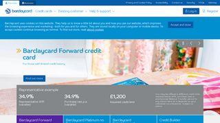 Barclaycard Credit Cards & Online Banking   Barclaycard