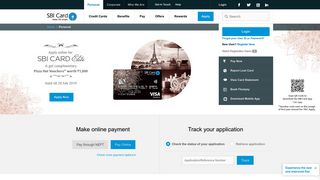 SBI Card: SBI Credit Card Online   Best Credit Cards Services in India
