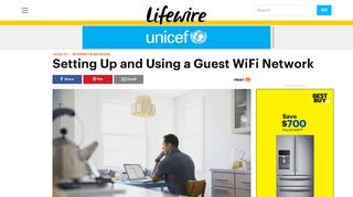 Setting Up and Using a Guest WiFi Network for Home - Lifewire
