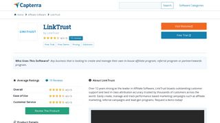 LinkTrust Reviews and Pricing - 2019 - Capterra