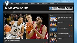 Pac-12 Networks Live | Pac-12
