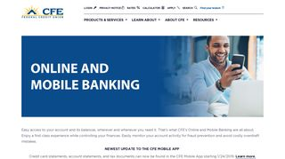 Online Banking | CFE Federal Credit Union