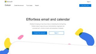 Outlook.com - Microsoft free personal email