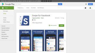 Swipe for Facebook - Aplikasi di Google Play