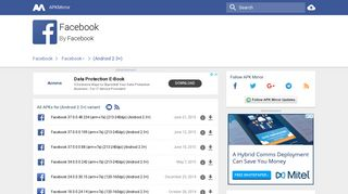 Facebook (Android 2.3+) APKs - APKMirror