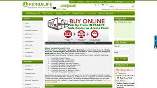 Herbalife Online Shop - Order Herbalife Products Online