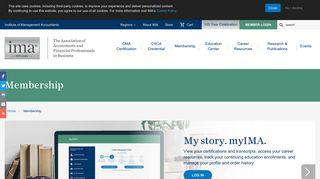 Membership | IMA - The association of accountants and financial ...