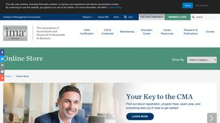Online Store | IMA - The association of accountants and financial ...