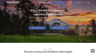 Indodax - Buy and Sell Bitcoin