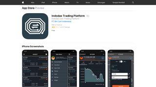 Indodax Trading Platform on the App Store - iTunes - Apple