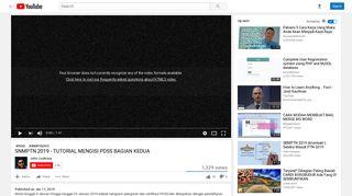 CARA INPUT NILAI SISWA DI PDSS 2019 - YouTube