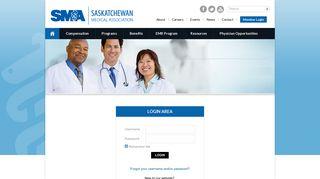 Member   Login   Saskatchewan Medical Association