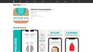 Stitch Fix: Personal Stylist on the App Store - iTunes - Apple