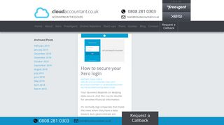 Xero login | cloudaccountant.co.uk