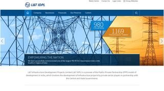 L&T IDPL: Infrastructure Projects Development Company in India