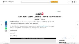 Turn Your Loser Lottery Tickets Into Winners - MSN.com