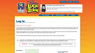 TX Second-Chance Luck Zone