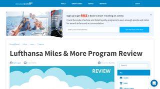 Lufthansa Miles & More Program Review - RewardExpert.com