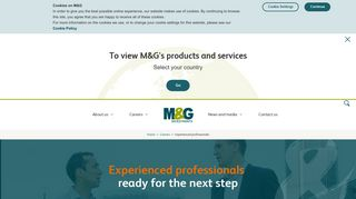 Experienced Hires   Careers at M&G   M&G Investments