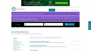 Jobs at M&G Group   eFinancialCareers